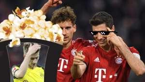 GFX Bayern Borussia Dortmund meme
