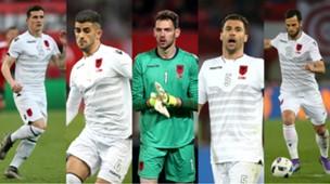 collage Albania Hysaj Mavraj Cana Berisha Xhaka European Championship