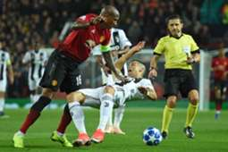 Ashley Young Cristiano Ronaldo Manchester United Juventus 23102018