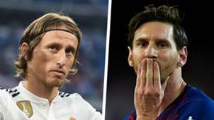 Luka Modric Lionel Messi Split