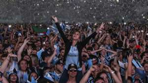 Festa torcida Grêmio Libertadores 29 11 17