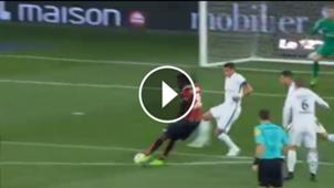 Mario Balotelli Niza PSG Goal