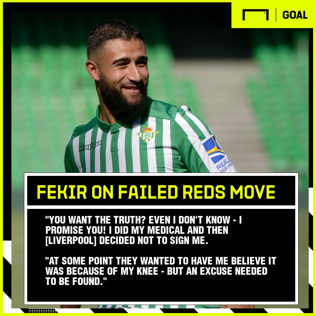 Nabil Fekir GFX Real Betis 2019-20