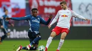 RB Leipzig Hamburg Timo Werner Gideon Jung