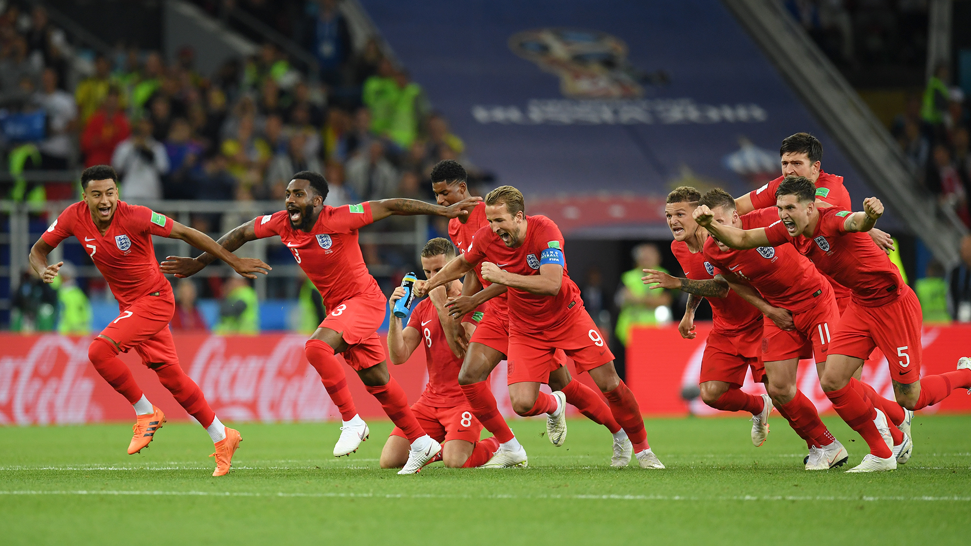 England Colombia World Cup 2018