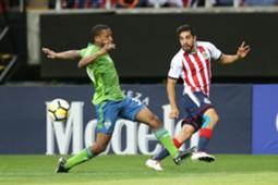 Rodolfo Pizarro, Chivas, Jordan McCrary, Seattle Sounders