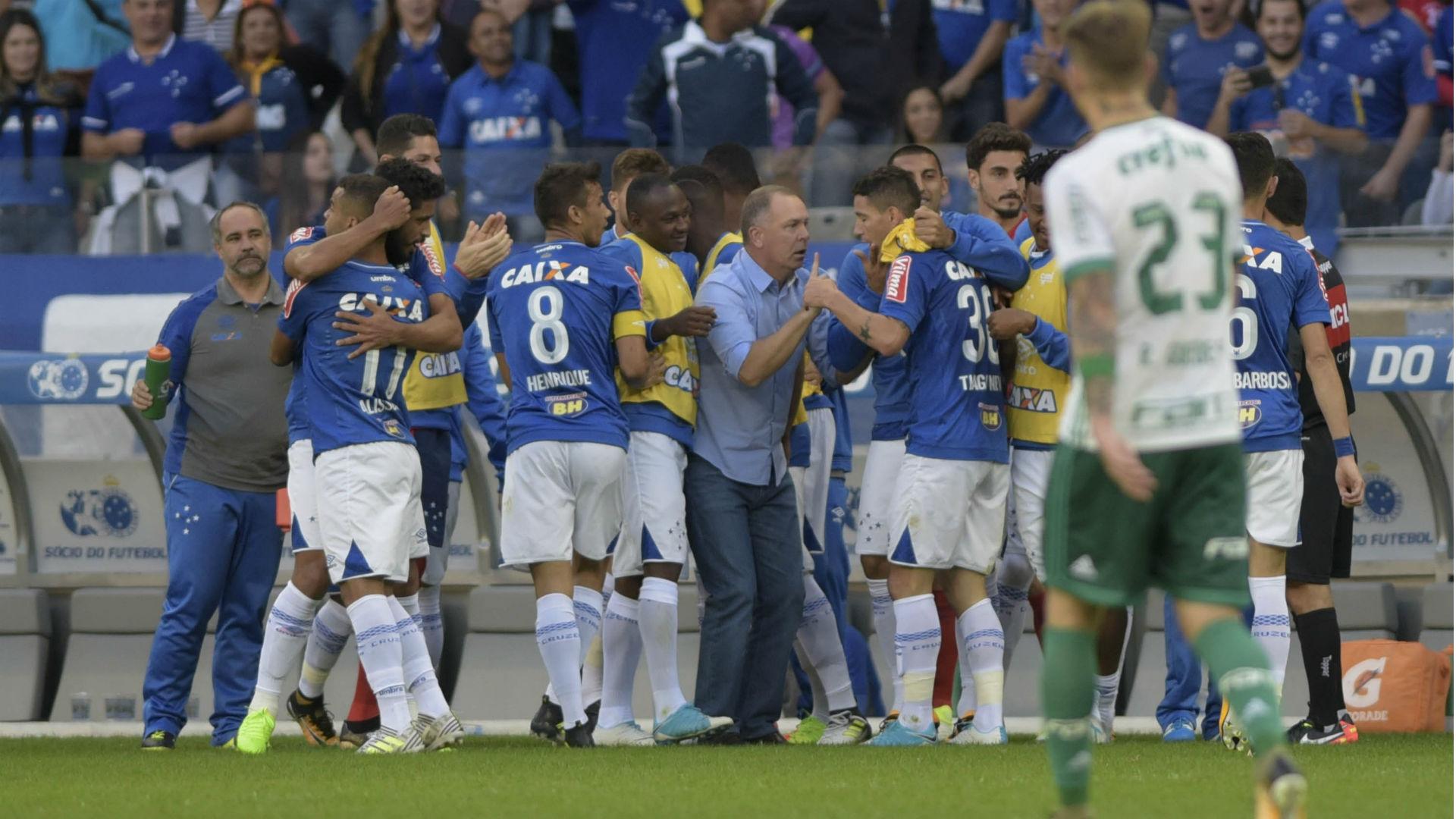 Cruzeiro Palmeiras Brasileirão 09 07 2017