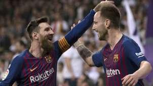 Lionel Messi Ivan Rakitic Barcelona 2018-19