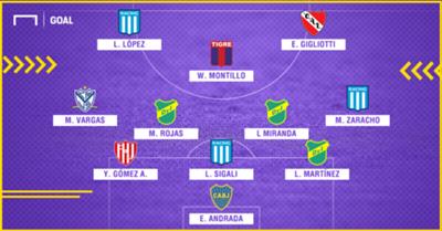 GFX Con Nombres Equipo Ideal Superliga 201819