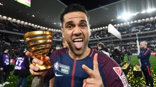 Dani Alves PSG 31032013 Coupe de la Ligue champions
