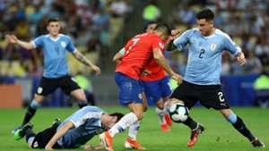 Jose Gimenez Alexis Sanchez Uruguay Chile