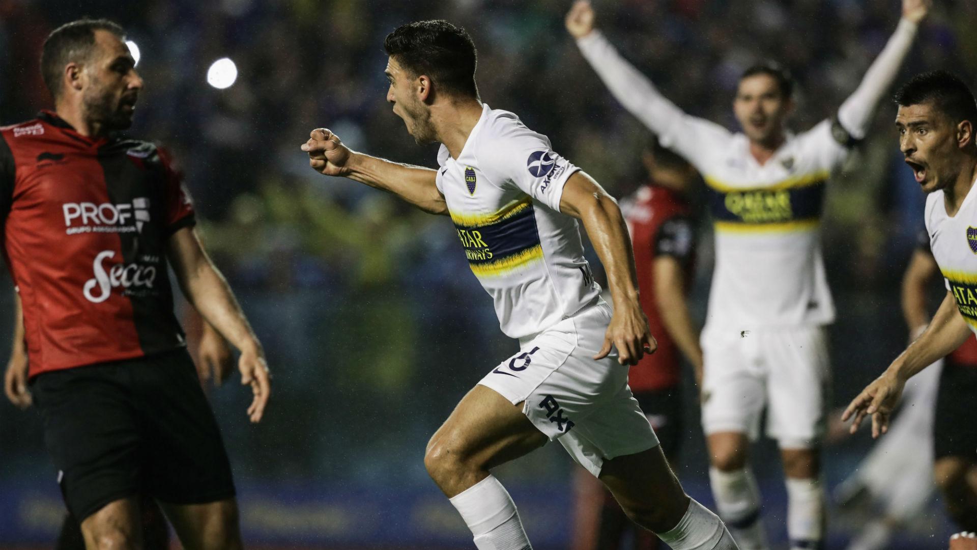 Lisandro Magallan Boca Colon Superliga 30092018