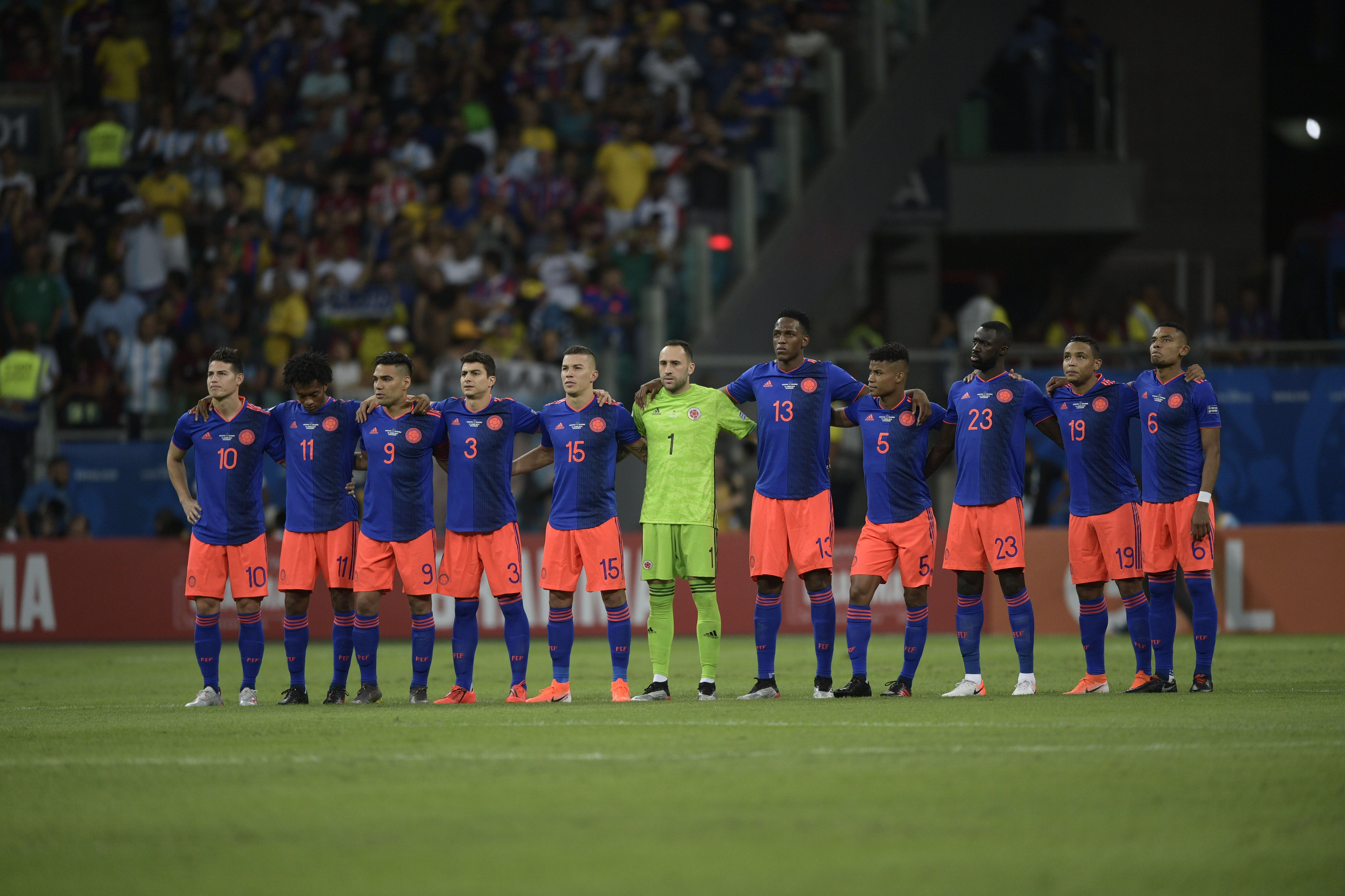 Nómina Colombia Copa América 2019