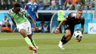 Ahmed Musa Nigeria Hannes Thor Halldorsson Iceland World Cup 2018