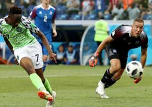 Nigeria got their first win of the 2018 Fifa World Cup as Ahmed Musa's brace secured them a 2-0 win over Iceland. Who else, beyond the Leicester City man, impressed?