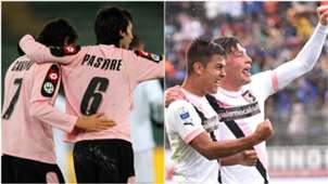 Edinson Cavani Javier Pastore Andrea Belotti Paolo Dybala Palermo Serie A