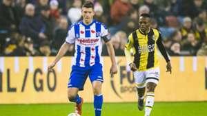Stijn Schaars Thulani Serero Vitesse - sc Heerenveen 02022019