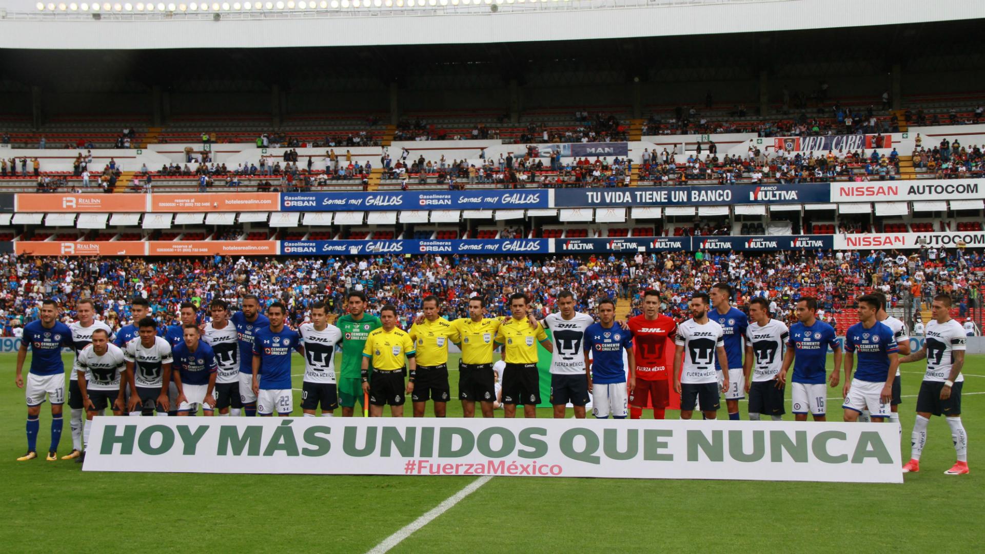Pumas Cruz Azul