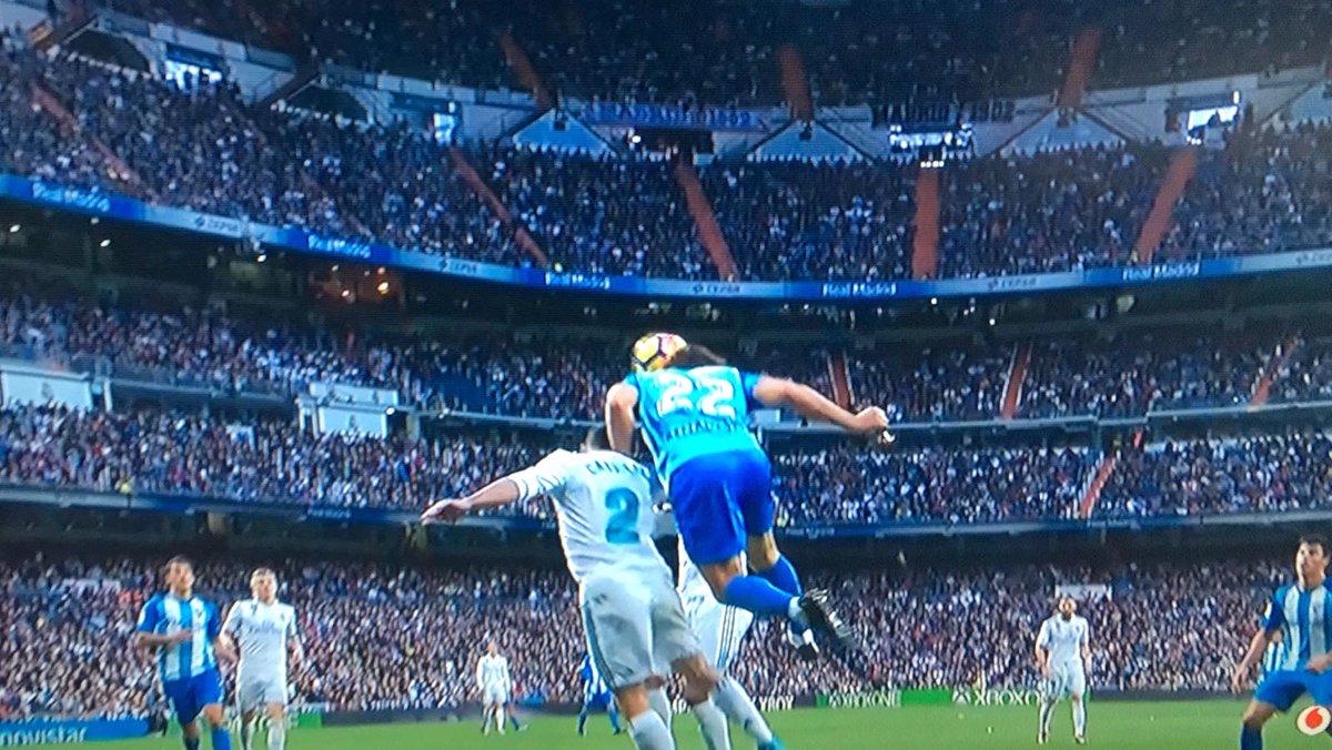 Baysse Carvajal Real Madrid LaLiga