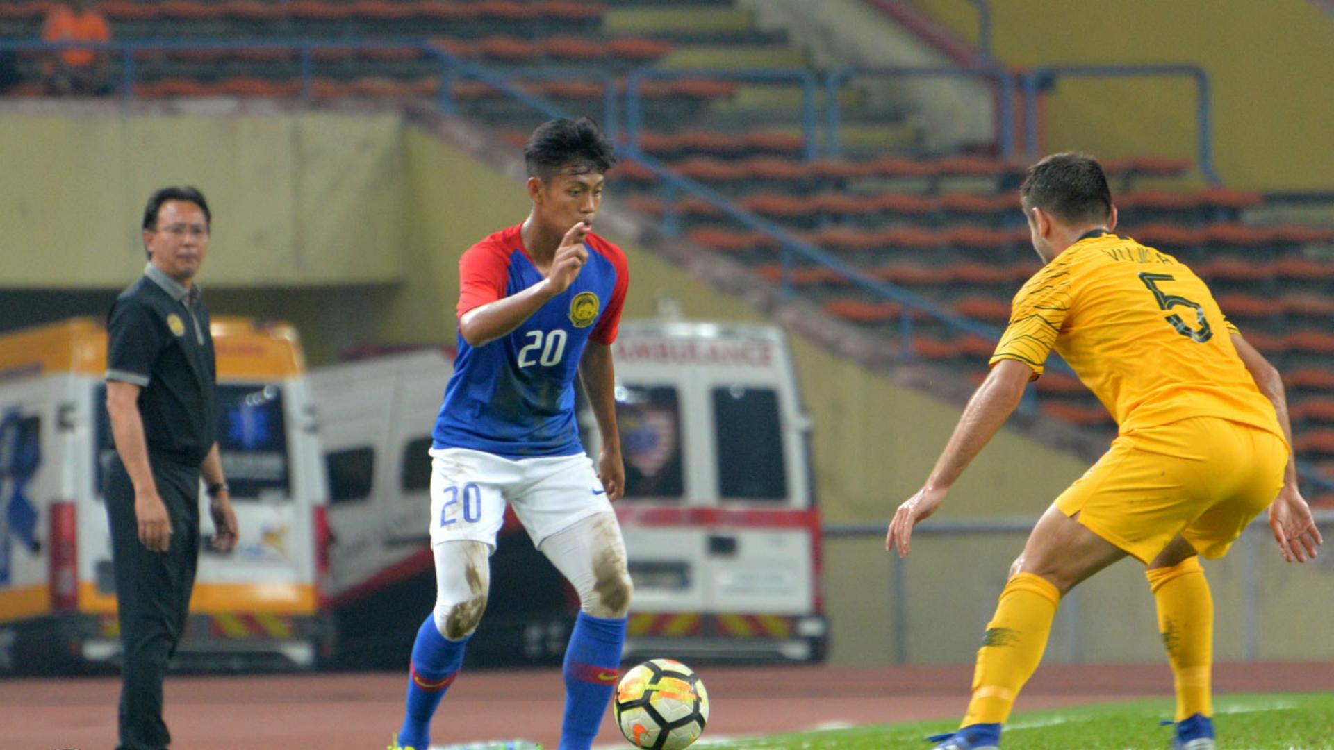 Syahmi Safari, Malaysia U23 v Australia U23, 17 Mar 2019