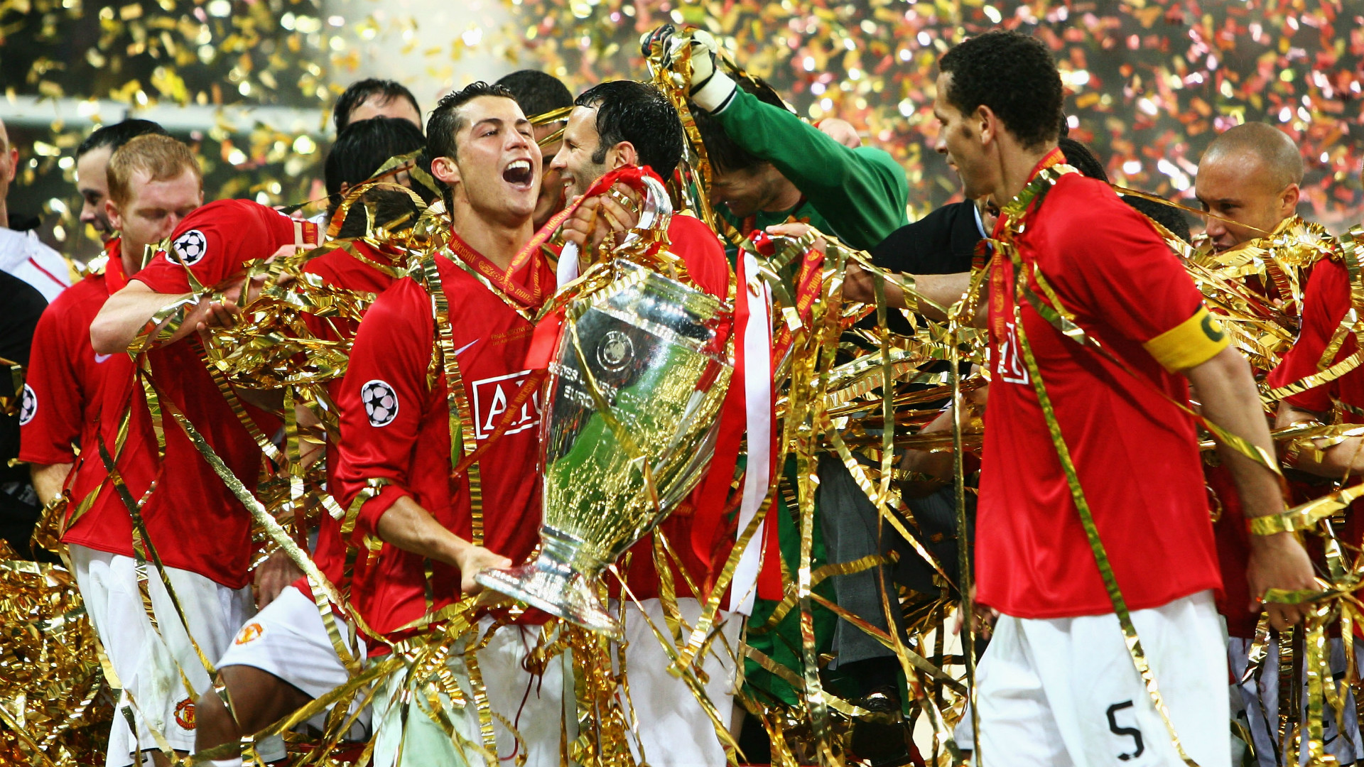 Manchester United Champions League 2008