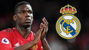 Paul Pogba Man Utd Real Madrid