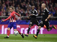Richard Almeida Antoine Griezmann Atletico de Madrid Qarabag UCL 31102017