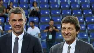 Paolo Maldini Leonardo Milan