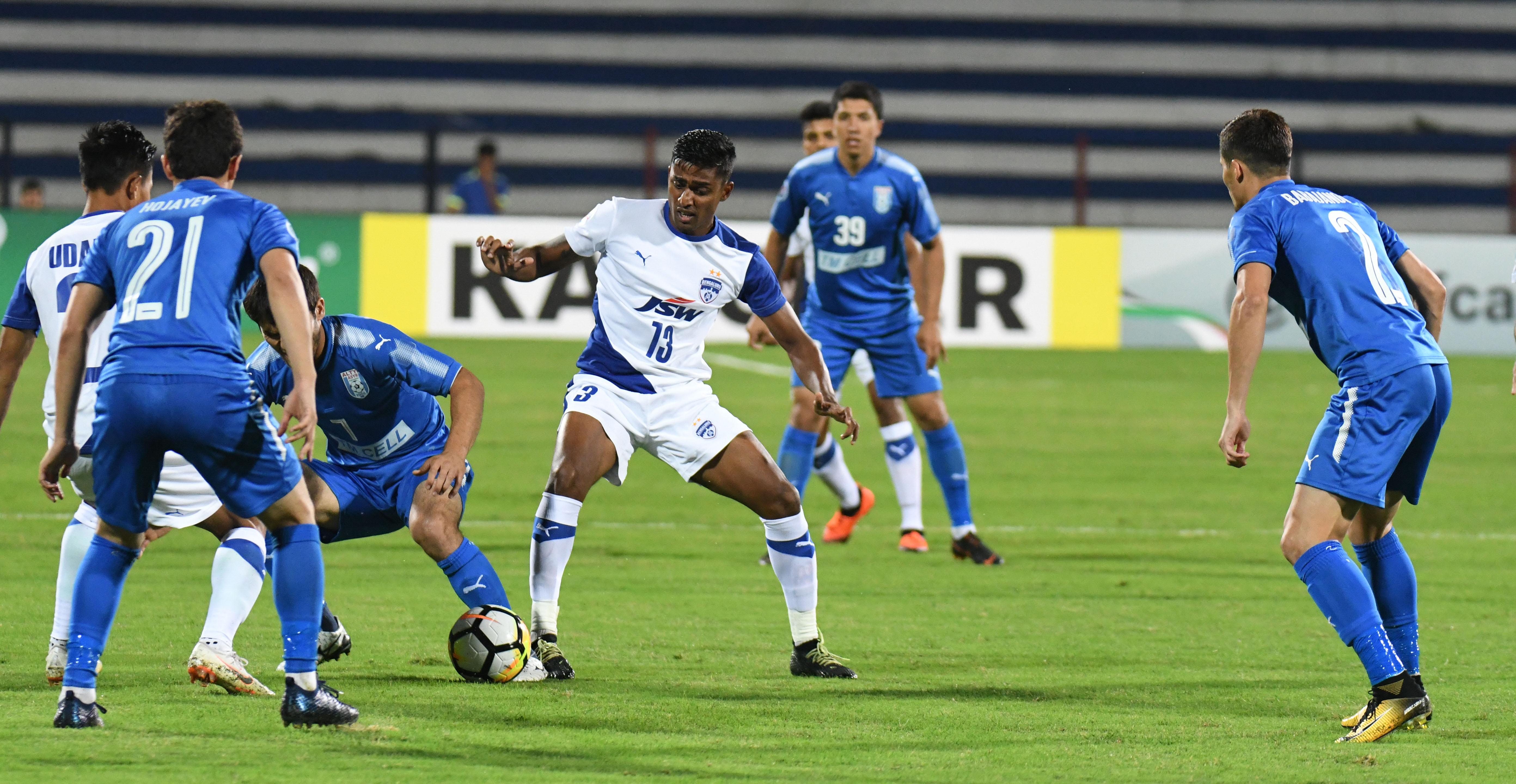 Bengaluru FC Altyn Asyr AFC Cup 2018