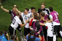 Germany Sweden Kroos' goal reaction