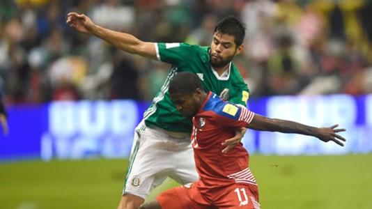 Nestor Araujo Mexico Armando Cooper Panama