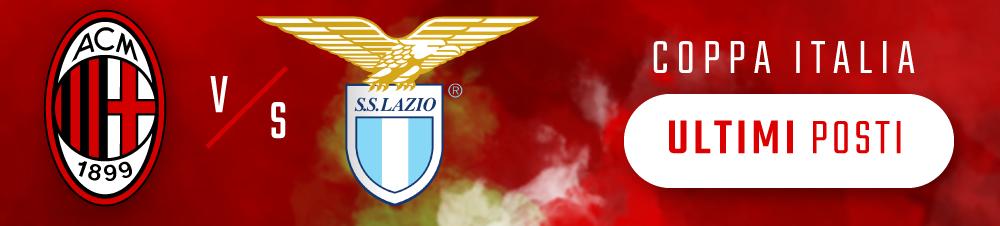 BANNER CAMPAGNA MILAN-LAZIO COPPA ITALIA