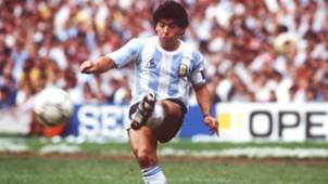 Maradona Argentina World Cup 1986