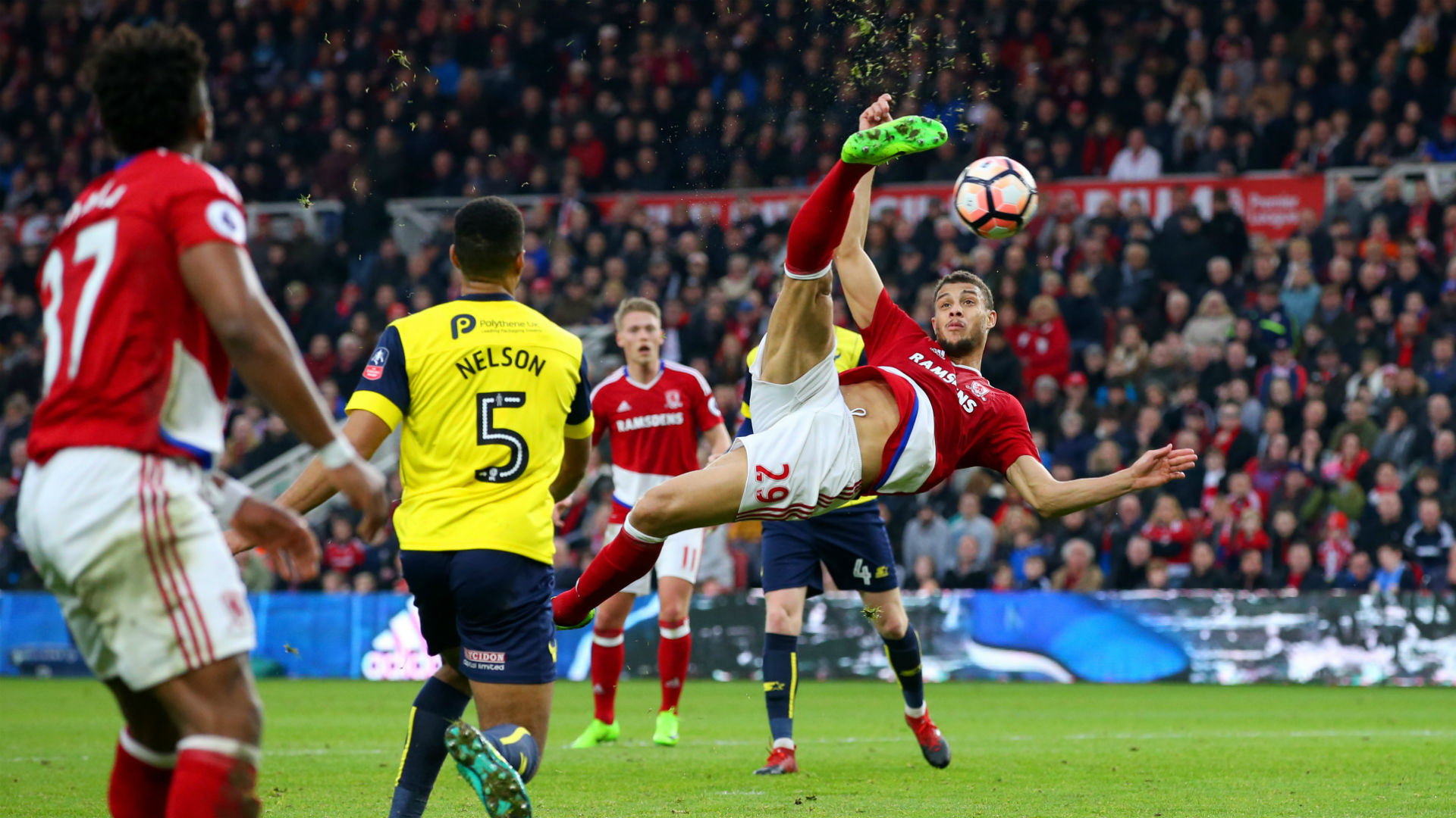 Middlesbrough Oxford FA Cup Rudy Gestede