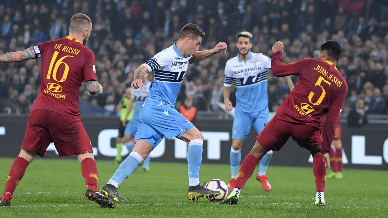 Lazio Rome 3-0 AS Roma : La Lazio met une claque à la Roma