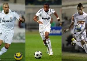 Robinho, passé par le Real Madrid, Manchester City et l'AC Milan, désigne son onze de rêve en exclusivité pour Goal.