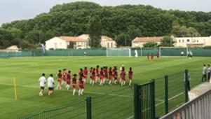 女足世界杯 中国女足备战意大利
