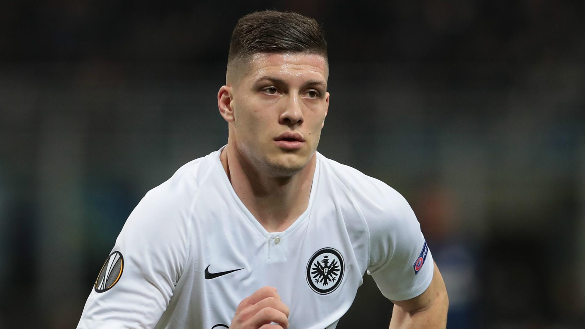 Luka Jovic Eintracht Frankfurt 2018-19