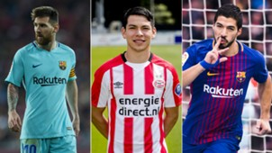 Messi - Lozano - Suárez