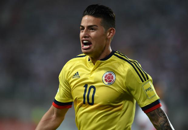 gol James Rodriguez Peru Colombia Eliminatorias 10102017
