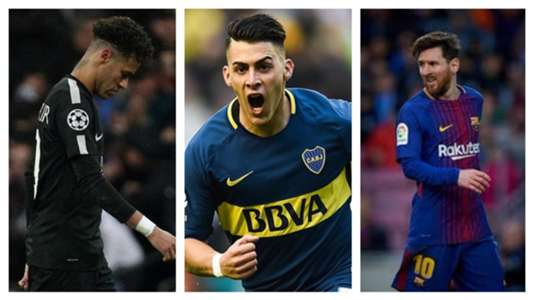 Pavon Neymar Messi Collage
