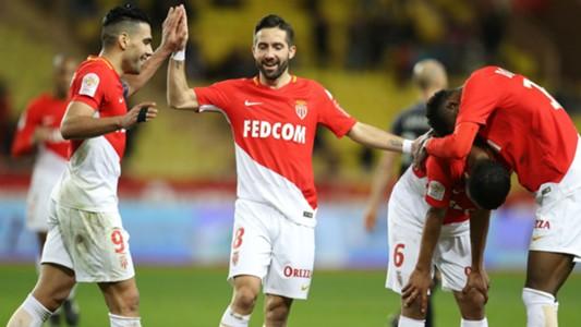 Joao Moutinho Radamel Falcao AS Monaco Metz Ligue 1 21012018