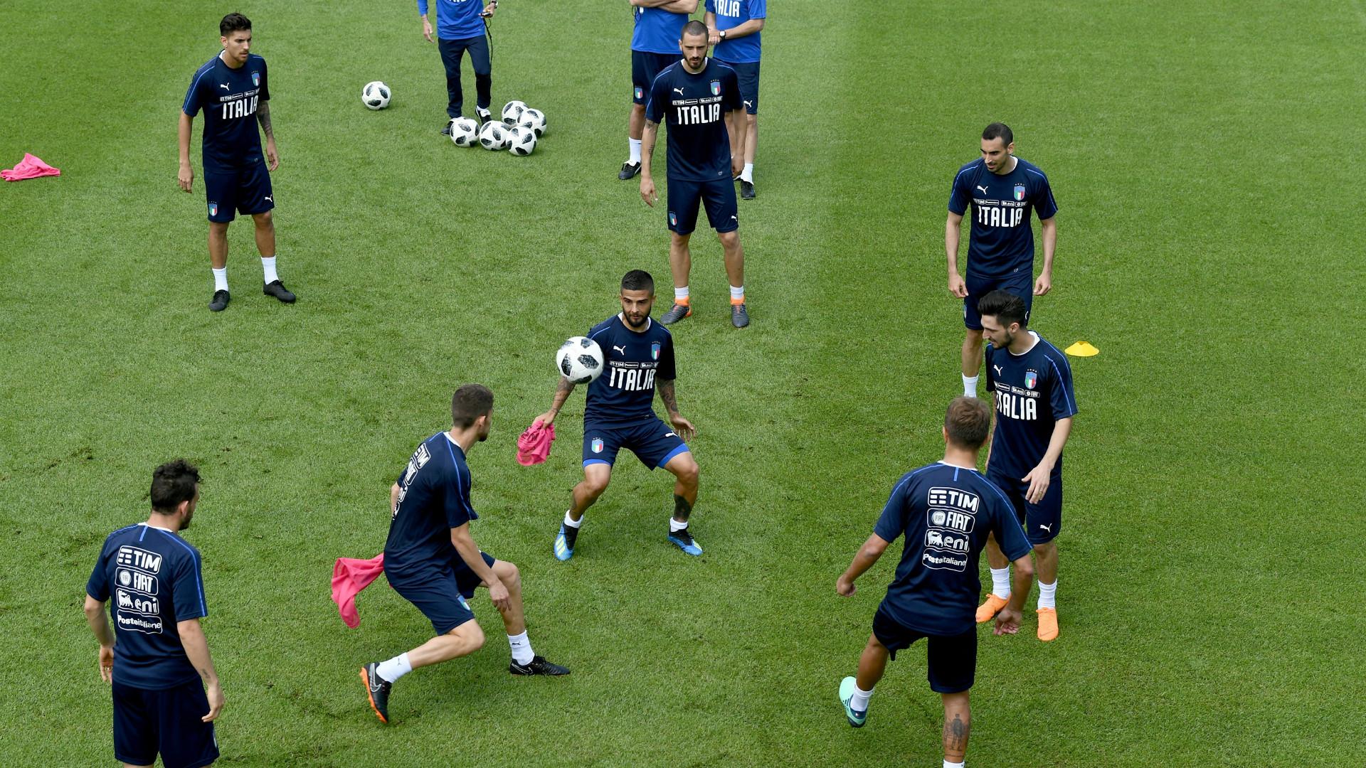 Italy's training, 24052018