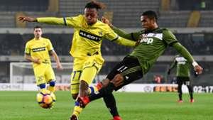 Samuel Bastien Douglas Costa Chievo Juventus