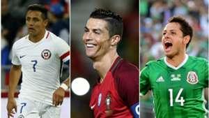 Las estrellas de la Copa Confederaciones