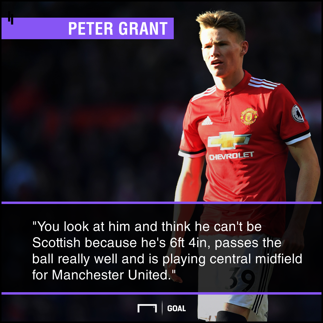 Scott McTominay Scottish doubts Peter Grant