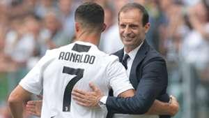 Cristiano Ronaldo Massimiliano Allegri Juventus Serie A