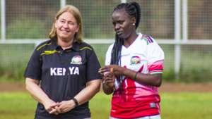 Fifa women in Kenya.