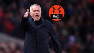 Mourinho swearing emoji