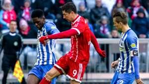 Robert Lewandowski FC Bayern Hertha BSC 24022018